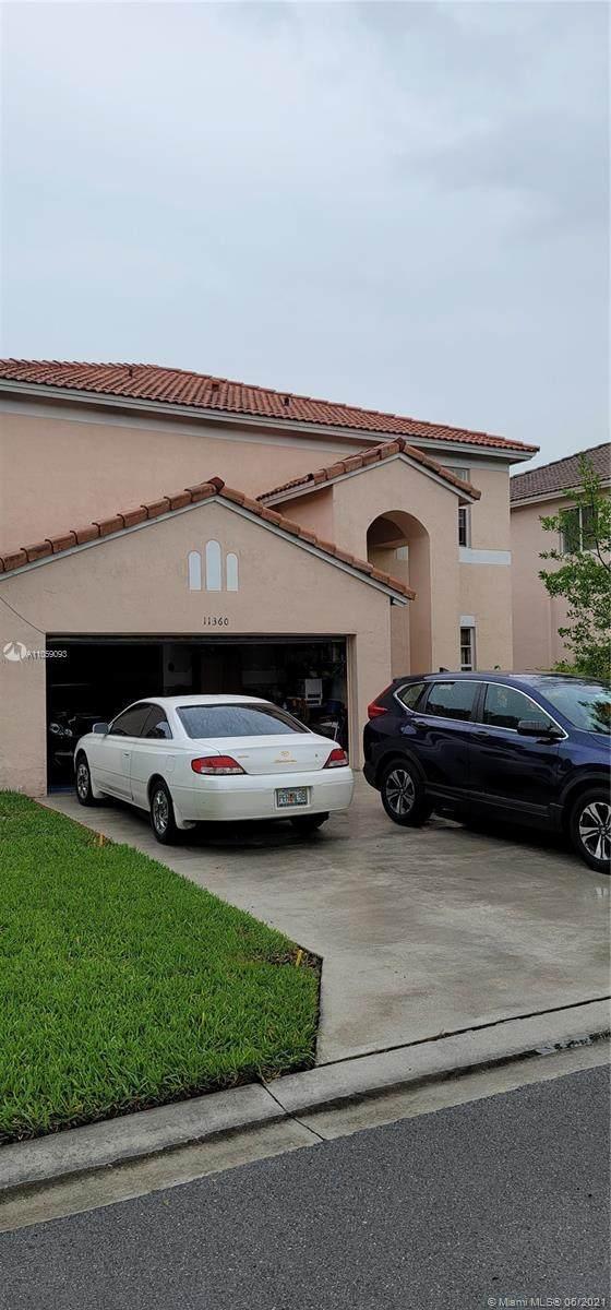 11360 SW 20th St, Miramar, FL 33025 (MLS #A11059093) :: The Teri Arbogast Team at Keller Williams Partners SW
