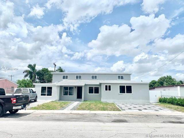 3071 NW 186th Ter, Miami Gardens, FL 33056 (MLS #A11079384) :: The Pearl Realty Group