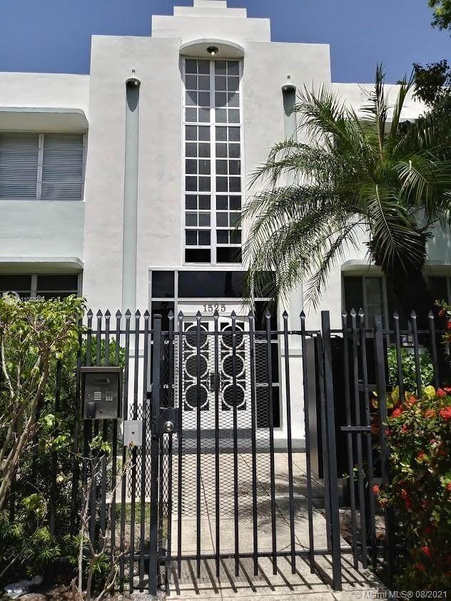 1525 Meridian Ave #101, Miami Beach, FL 33139 (MLS #A11083985) :: Jo-Ann Forster Team