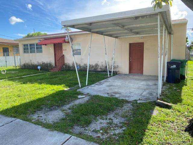 810 SW 71st Ave, Miami, FL 33144 (MLS #A11092171) :: All Florida Home Team