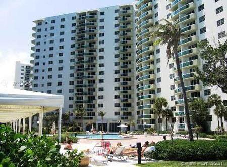 3001 S Ocean Dr #901, Hollywood, FL 33019 (MLS #A11101045) :: Green Realty Properties