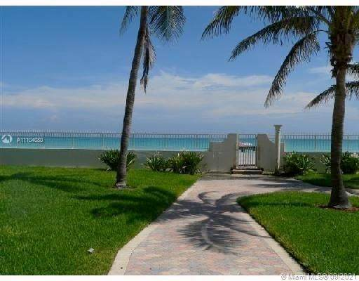 3801 S Ocean Dr 3R, Hollywood, FL 33019 (MLS #A11104080) :: Green Realty Properties