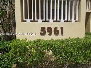 5961 NW 61st Ave #208, Tamarac, FL 33319 (MLS #A11110832) :: Green Realty Properties