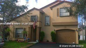 1322 NW 125th Ter #1322, Sunrise, FL 33323 (MLS #A11112805) :: The Jack Coden Group