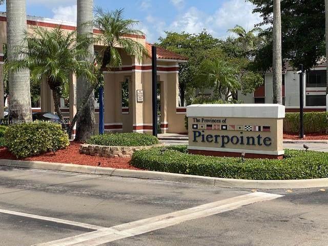 11456 NW 10th St #11456, Pembroke Pines, FL 33026 (MLS #A11114037) :: Green Realty Properties