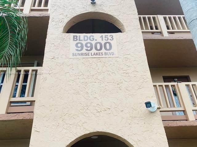 9900 Sunrise Lakes Blvd #104, Sunrise, FL 33322 (MLS #A11115815) :: Equity Advisor Team
