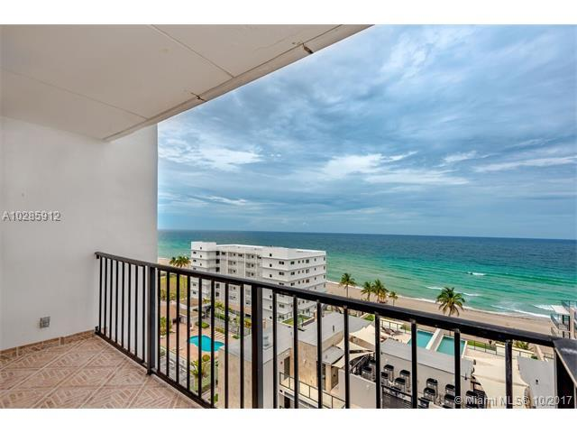2101 S Ocean Dr #1102, Hollywood, FL 33019 (MLS #A10285912) :: The Teri Arbogast Team at Keller Williams Partners SW