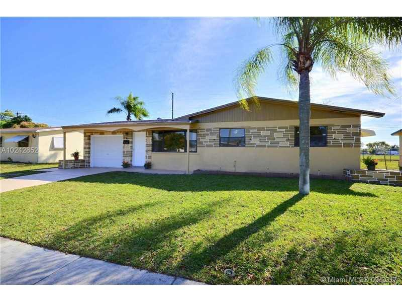 541 N 65th Ave, Hollywood, FL 33024 (MLS #A10242852) :: Green Realty Properties