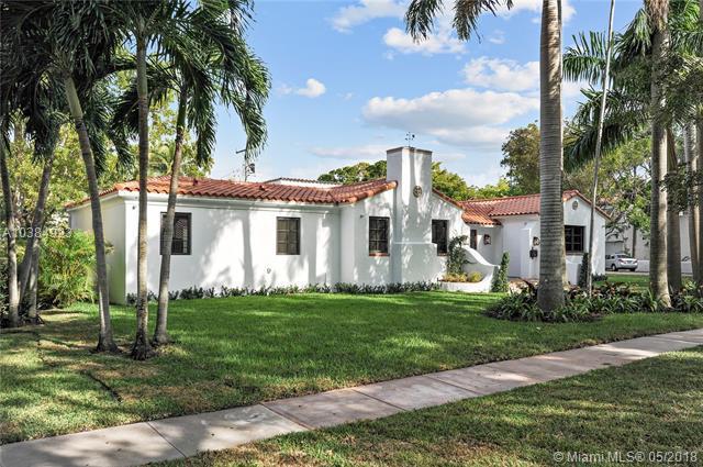 501 Alcazar Ave, Coral Gables, FL 33134 (MLS #A10384923) :: Green Realty Properties