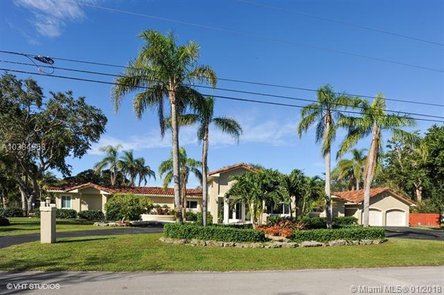 11100 SW 64th Ave, Pinecrest, FL 33156 (MLS #A10384958) :: The Teri Arbogast Team at Keller Williams Partners SW