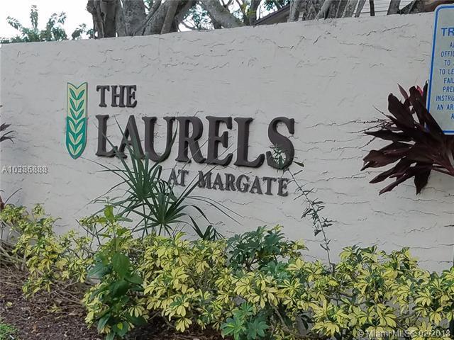453 N Laurel Dr #1504, Margate, FL 33063 (MLS #A10386888) :: The Teri Arbogast Team at Keller Williams Partners SW