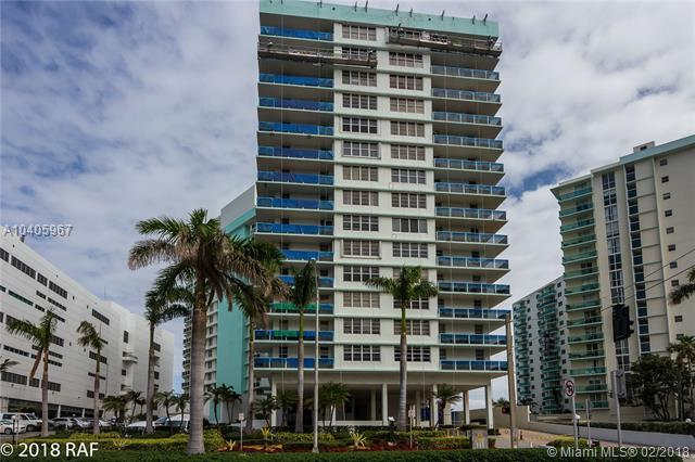 3725 S Ocean Dr #712, Hollywood, FL 33019 (MLS #A10405967) :: The Teri Arbogast Team at Keller Williams Partners SW
