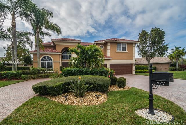 577 NW 120th Dr, Coral Springs, FL 33071 (MLS #A10406004) :: The Teri Arbogast Team at Keller Williams Partners SW