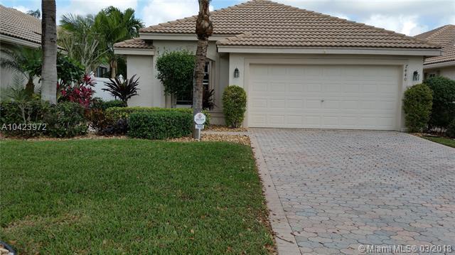 7440 W Mercada Way, Delray Beach, FL 33446 (MLS #A10423972) :: Stanley Rosen Group