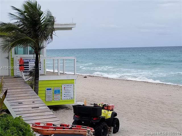 2030 S Ocean Dr #824, Hallandale, FL 33009 (MLS #A10439598) :: Green Realty Properties