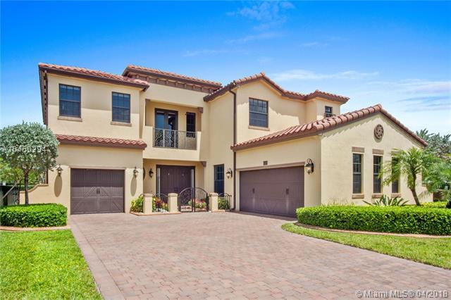 8705 NW 41st St, Cooper City, FL 33024 (MLS #A10450294) :: The Teri Arbogast Team at Keller Williams Partners SW