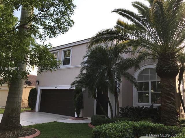 4962 SW 166th Ave, Miramar, FL 33027 (MLS #A10461571) :: Stanley Rosen Group