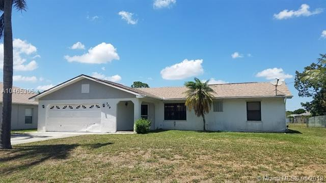 309 SW Whitmore Dr, Port St. Lucie, FL 34984 (MLS #A10465306) :: Green Realty Properties