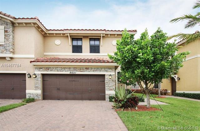 9621 Watercrest Isle #9621, Parkland, FL 33076 (MLS #A10467784) :: Green Realty Properties