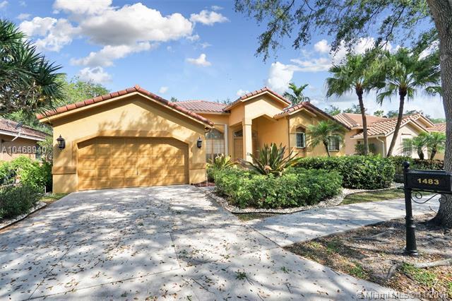1483 Lantana Ct, Weston, FL 33326 (MLS #A10468940) :: Green Realty Properties