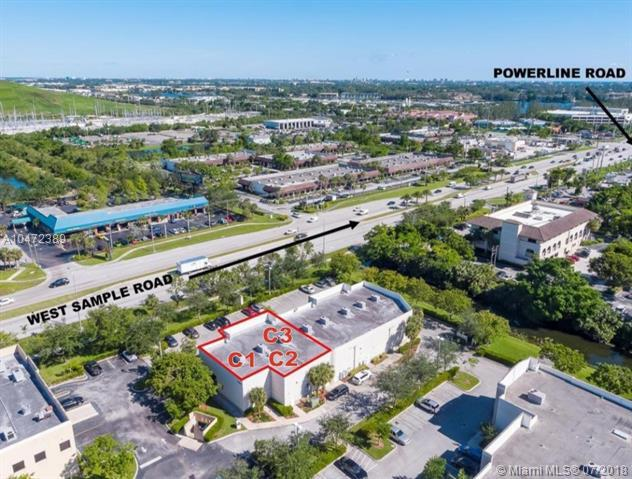 2400 W Sample Rd C1,C2, C3, Pompano Beach, FL 33064 (MLS #A10472389) :: Green Realty Properties