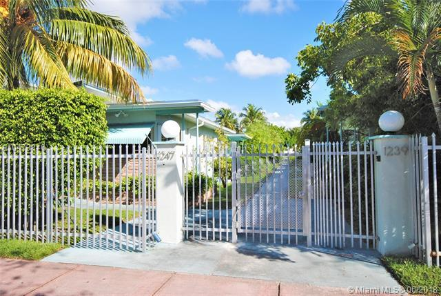 1247 Marseille Dr #110, Miami Beach, FL 33141 (MLS #A10473346) :: The Teri Arbogast Team at Keller Williams Partners SW