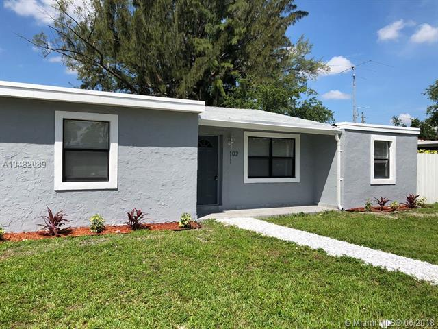 102 Ronald Rd, West Park, FL 33023 (MLS #A10482089) :: Prestige Realty Group