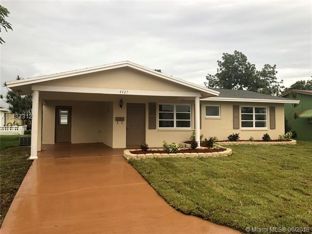 4927 NW 52nd Ct, Tamarac, FL 33319 (MLS #A10487312) :: Green Realty Properties