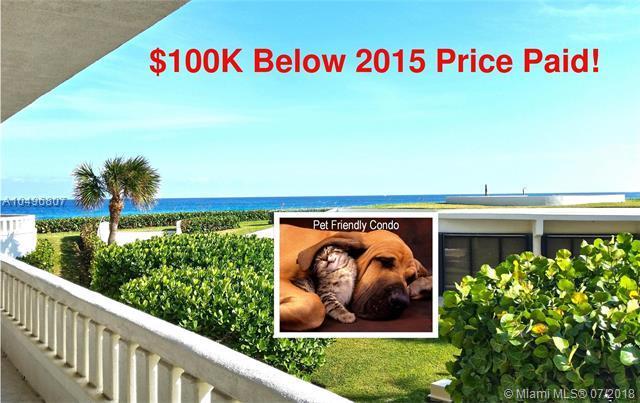 2660 S Ocean Boulevard 105N, Palm Beach, FL 33480 (MLS #A10496807) :: The Teri Arbogast Team at Keller Williams Partners SW