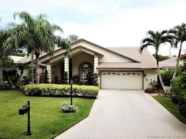 5156 Chardonnay Dr, Coral Springs, FL 33067 (MLS #A10499740) :: The Teri Arbogast Team at Keller Williams Partners SW