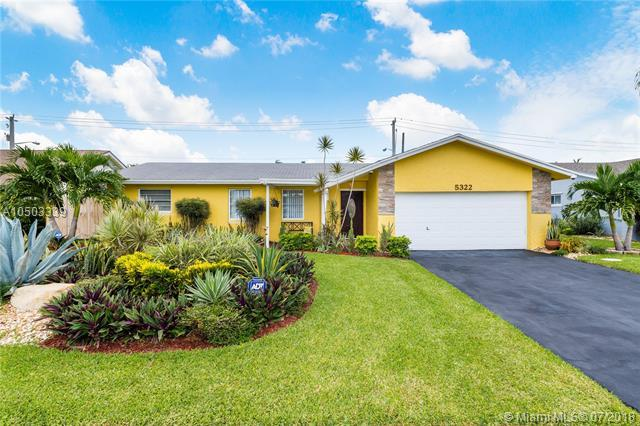 5322 NW 29th Ct, Margate, FL 33063 (MLS #A10503339) :: The Teri Arbogast Team at Keller Williams Partners SW