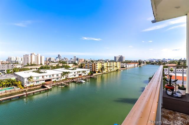 8001 Crespi Blvd 7C, Miami Beach, FL 33141 (MLS #A10504616) :: Green Realty Properties