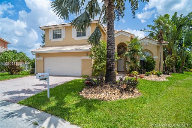 14671 SW 39th Ct, Miramar, FL 33027 (MLS #A10506833) :: Green Realty Properties