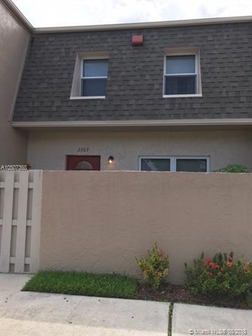 3307 Quail Close #30, Pompano Beach, FL 33064 (MLS #A10507368) :: Green Realty Properties
