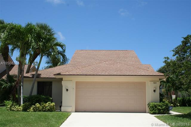 191 Harbourside Circle, Jupiter, FL 33477 (MLS #A10508384) :: Green Realty Properties