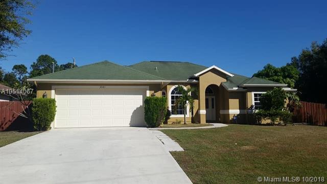 3581 SW Carmody St, Port St. Lucie, FL 34953 (MLS #A10514067) :: Prestige Realty Group