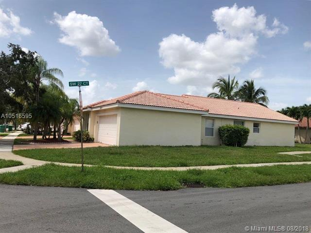 2677 SW 177th Ave, Miramar, FL 33029 (MLS #A10516595) :: Green Realty Properties