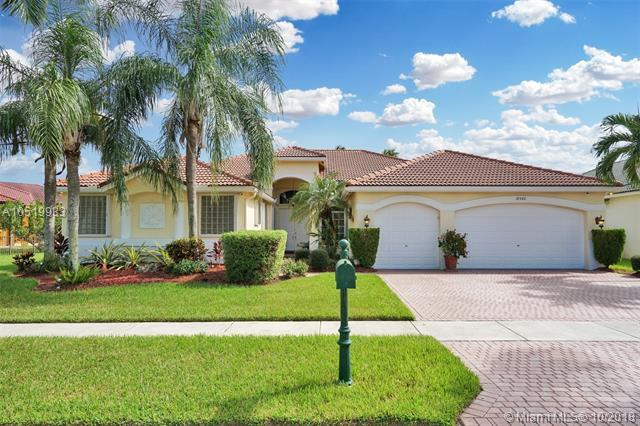 18542 SW 42nd St, Miramar, FL 33029 (MLS #A10519933) :: Green Realty Properties
