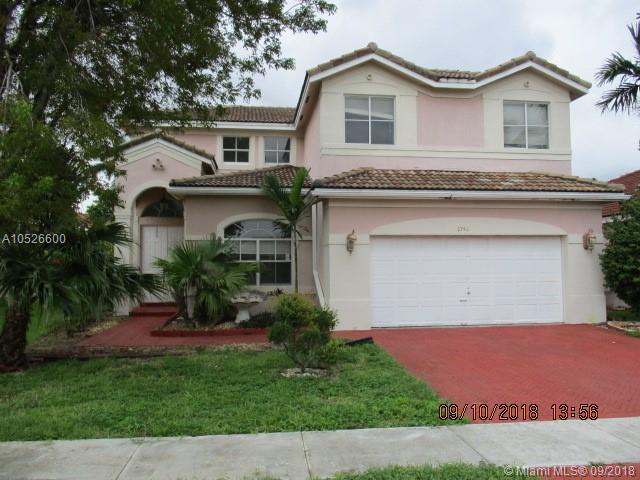 2746 SW 129TH TERR, Miramar, FL 33027 (MLS #A10526600) :: Green Realty Properties