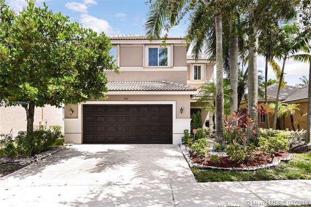 596 Conservation Dr, Weston, FL 33327 (MLS #A10531147) :: The Teri Arbogast Team at Keller Williams Partners SW