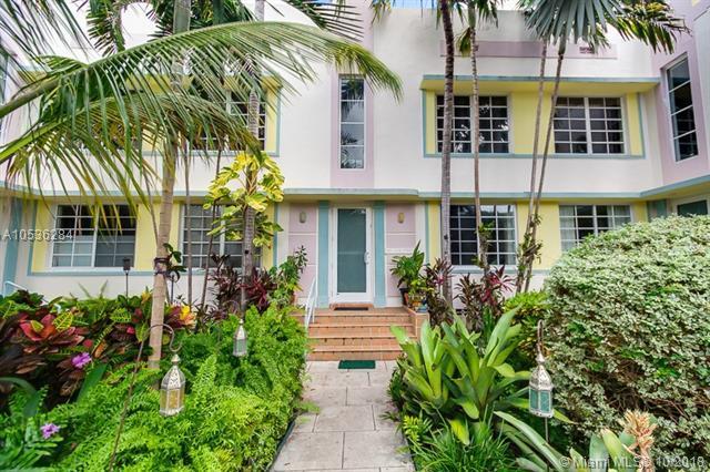 833 10th St #103, Miami Beach, FL 33139 (MLS #A10536284) :: Green Realty Properties