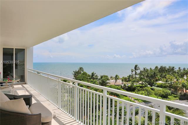 605 Ocean Drive 8M, Key Biscayne, FL 33149 (MLS #A10538305) :: Stanley Rosen Group