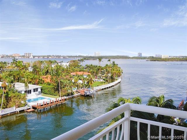 10140 W Bay Harbor Drive #603, Bay Harbor Islands, FL 33154 (MLS #A10539465) :: Green Realty Properties