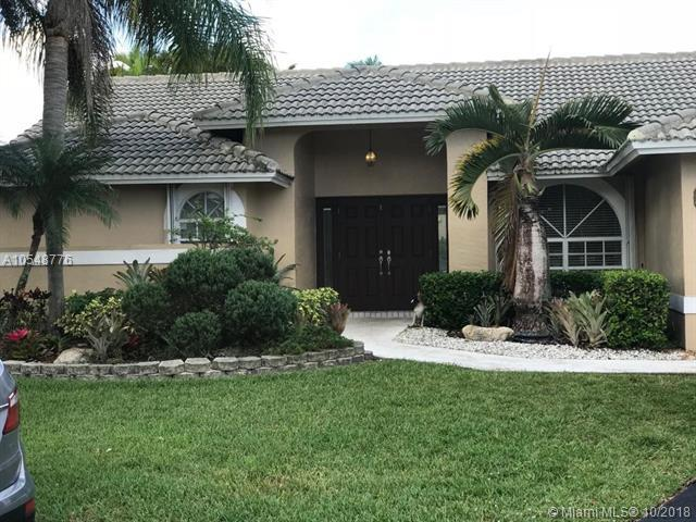 100 SW 121 St Way, Coral Springs, FL 33071 (MLS #A10548776) :: The Teri Arbogast Team at Keller Williams Partners SW