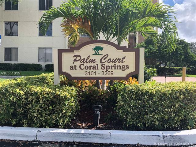 3247 Riverside Dr D-201, Coral Springs, FL 33065 (MLS #A10551019) :: Green Realty Properties