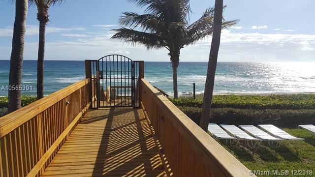 3400 S Ocean Blvd 10J, Highland Beach, FL 33487 (MLS #A10565391) :: Green Realty Properties