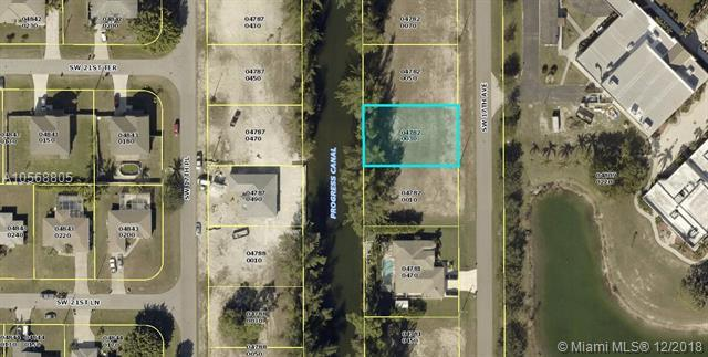2110 SW 17TH AVE, Other City Value - Out Of Area, FL 33991 (MLS #A10568805) :: Green Realty Properties