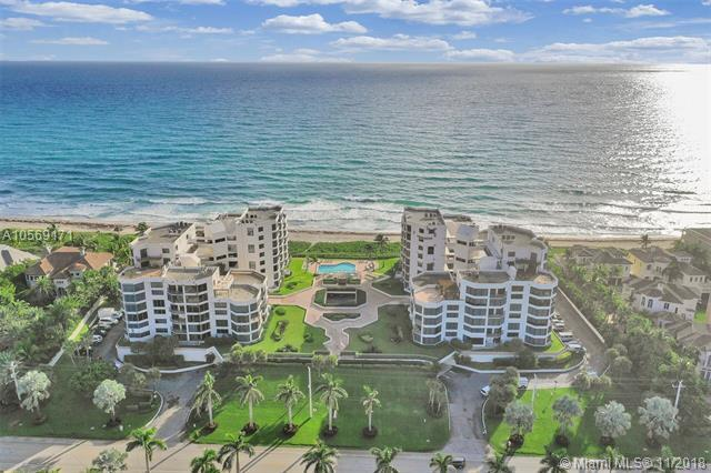 2575 S Ocean Blvd 305S, Highland Beach, FL 33487 (MLS #A10569171) :: Green Realty Properties
