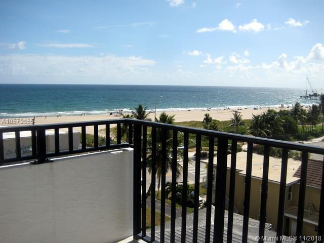 525 N Ocean Blvd #723, Pompano Beach, FL 33062 (MLS #A10570165) :: The Riley Smith Group