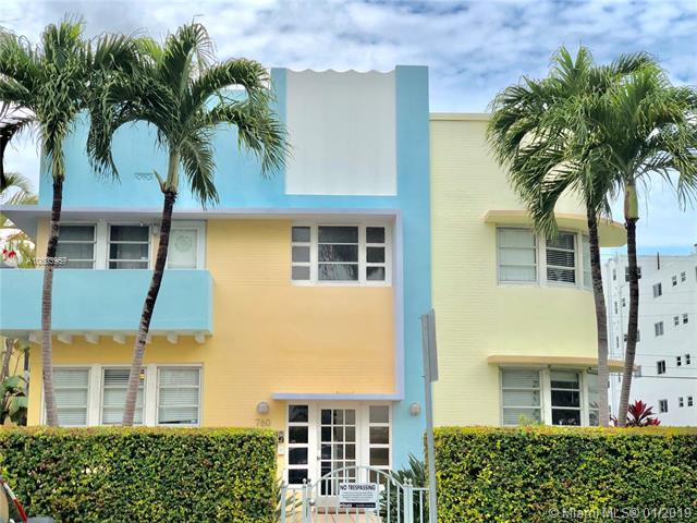 760 Euclid Ave #201, Miami Beach, FL 33139 (MLS #A10603957) :: The Jack Coden Group
